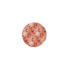 Vintage Flowers 1  Mini Button
