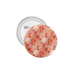 Vintage Flowers 1.75  Button