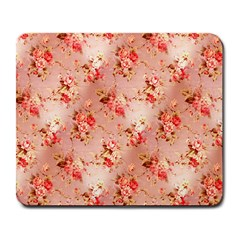 Vintage Flowers Large Mouse Pad (Rectangle)