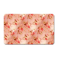 Vintage Flowers Magnet (Rectangular)