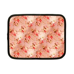 Vintage Flowers Netbook Case (Small)