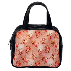 Vintage Flowers Classic Handbag (One Side)