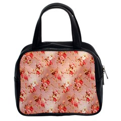 Vintage Flowers Classic Handbag (Two Sides)