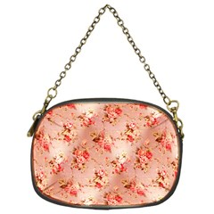 Vintage Flowers Chain Purse (One Side)