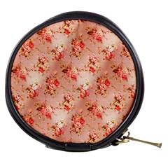 Vintage Flowers Mini Makeup Case