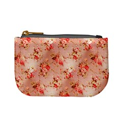 Vintage Flowers Coin Change Purse