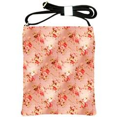 Vintage Flowers Shoulder Sling Bag