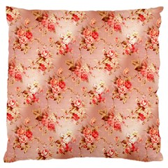 Vintage Flowers Large Cushion Case (Two Sides)