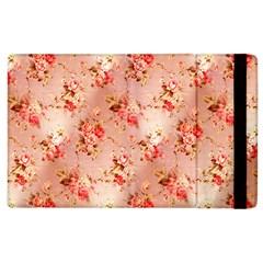 Vintage Flowers Apple iPad 3/4 Flip Case