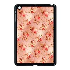 Vintage Flowers Apple iPad Mini Case (Black)