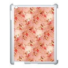 Vintage Flowers Apple iPad 3/4 Case (White)
