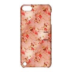 Vintage Flowers Apple iPod Touch 5 Hardshell Case with Stand
