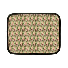 Vintage Girl Netbook Case (Small)