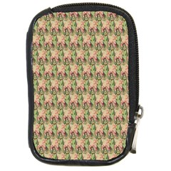 Vintage Girl Compact Camera Leather Case
