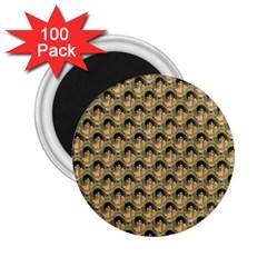 Vintage Girl 2.25  Button Magnet (100 pack)