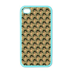 Vintage Girl Apple iPhone 4 Case (Color)