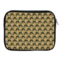 Vintage Girl Apple iPad 2/3/4 Zipper Case