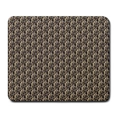 Vintage Girl Large Mouse Pad (Rectangle)