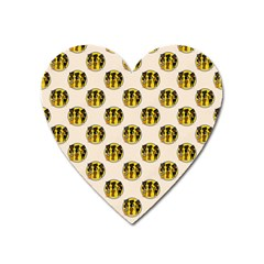 Vintage Halloween Magnet (Heart)