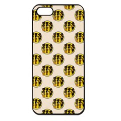 Vintage Halloween Apple iPhone 5 Seamless Case (Black)