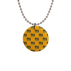 Vintage Halloween Button Necklace