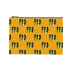 Vintage Halloween Cosmetic Bag (Large)