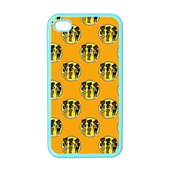 Vintage Halloween Apple iPhone 4 Case (Color)