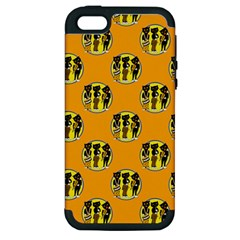 Vintage Halloween Apple iPhone 5 Hardshell Case (PC+Silicone)