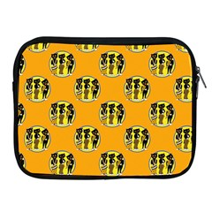 Vintage Halloween Apple iPad 2/3/4 Zipper Case