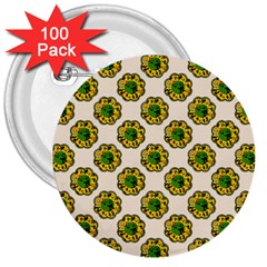 Vintage Halloween 3  Button (100 pack)