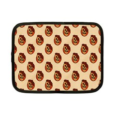 Vintage Halloween Netbook Case (Small)