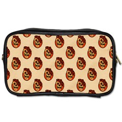 Vintage Halloween Travel Toiletry Bag (Two Sides)