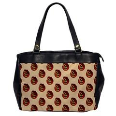 Vintage Halloween Oversize Office Handbag (One Side)