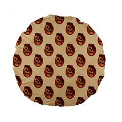 Vintage Halloween 15  Premium Round Cushion