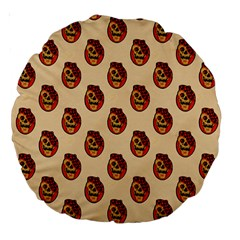 Vintage Halloween 18  Premium Round Cushion