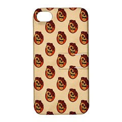 Vintage Halloween Apple iPhone 4/4S Hardshell Case with Stand