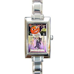 Is This Your? Rectangular Italian Charm Watch