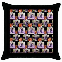 Is This Your? Black Throw Pillow Case
