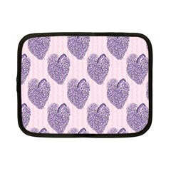 Vintage Heart Netbook Case (Small)