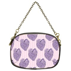 Vintage Heart Chain Purse (One Side)