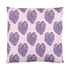 Vintage Heart Cushion Case (Two Sides)