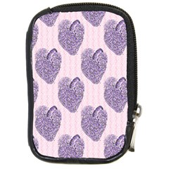 Vintage Heart Compact Camera Leather Case