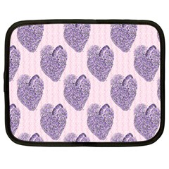 Vintage Heart Netbook Case (XL)