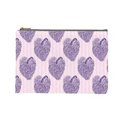 Vintage Heart Cosmetic Bag (Large)