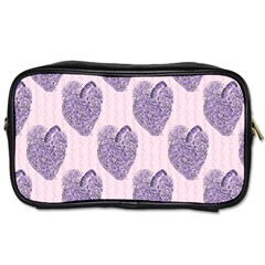 Vintage Heart Travel Toiletry Bag (One Side)