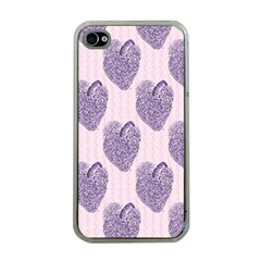 Vintage Heart Apple iPhone 4 Case (Clear)