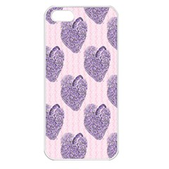 Vintage Heart Apple iPhone 5 Seamless Case (White)