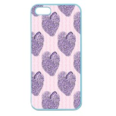 Vintage Heart Apple Seamless iPhone 5 Case (Color)