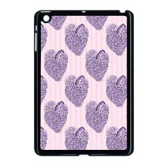 Vintage Heart Apple iPad Mini Case (Black)