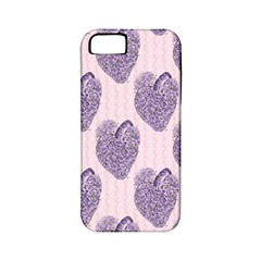 Vintage Heart Apple iPhone 5 Classic Hardshell Case (PC+Silicone)